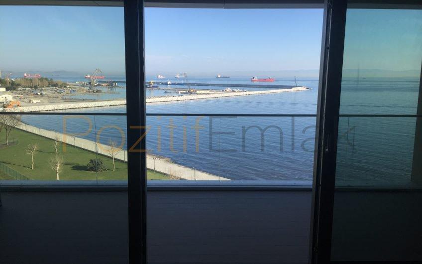 Yalı Ataköy de Kiralık 3+1 Full Deniz Manzaralı